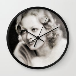 Joan Crawford, Vintage Actress Wall Clock