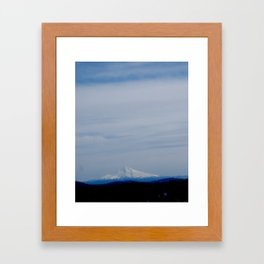 Mt. Hood Framed Art Print
