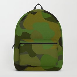 Camo-licious Collection: Gorgeous Green Camouflage Pattern Backpack