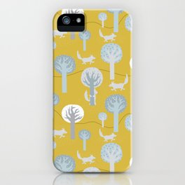 Can you see me? - Fabric pattern iPhone Case