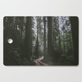Redwoods Road Cutting Board