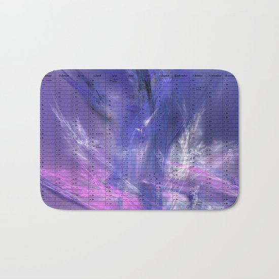 Kalender 2017 Ice Bath Mat
