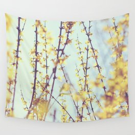 Yellow Daydreams Wall Tapestry