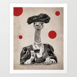 Anthropomorphic N°1 Art Print