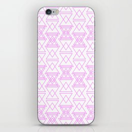 RIGHT AND WRONG I: EASY PINK iPhone Skin