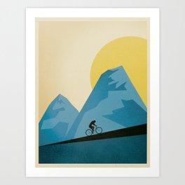 Mountain Trails Art Print