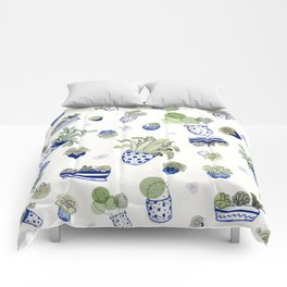 For the Love of Plants Comforters