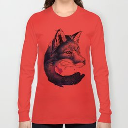 Celestial Fox Long Sleeve T-shirt