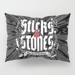 Sticks and Stones Pillow Sham