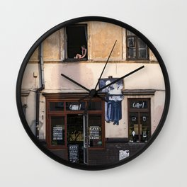 Užupis Wall Clock