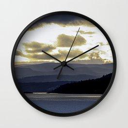 Back to the Island mk1 Wall Clock
