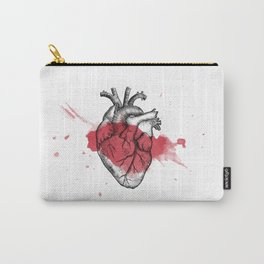 Anatomical heart - Art is Heart  Carry-All Pouch