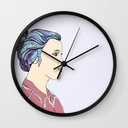 Hard For Dreamers (The St. Aurora) Wall Clock