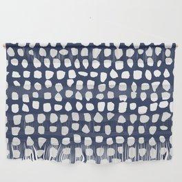 Dots / Navy Wall Hanging