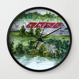 Fort Ticonderoga Wall Clock