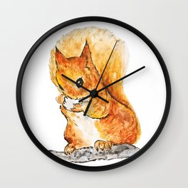 Squirrel Nutkin Peter Rabbit  Beatrix Potter Wall Clock