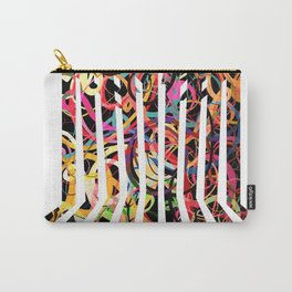 Graphic design six by Leslie Harlow Carry-All Pouch