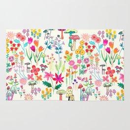 The Odd Floral Garden I Rug