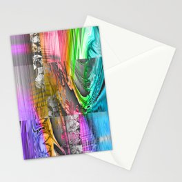 mixed all into one II Stationery Cards