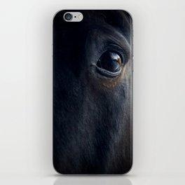 The eye of the horse iPhone Skin
