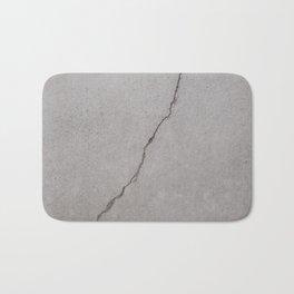 cracked concrete texture - cement stone Bath Mat