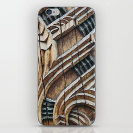 A Maori Carving iPhone Skin