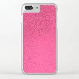 Brink Pink Extrude Clear iPhone Case