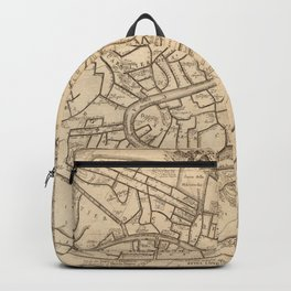 Vintage Map of Venice Italy (1725) Backpack