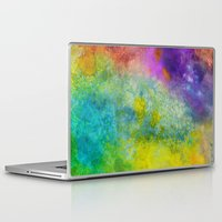 poop Laptop & iPad Skins featuring Unicorn Poop by Andrea Gingerich