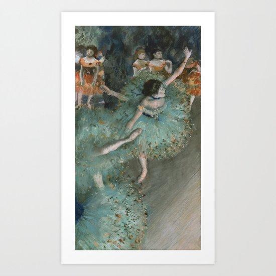 Swaying Dancer - Edgar Degas by maryedenoa