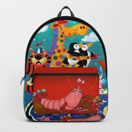 Ridin' Happy Gang Backpack