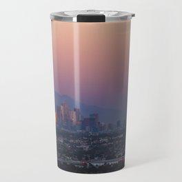 Los Angeles Supermoon Travel Mug