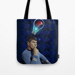 Always on his mind Tote Bag