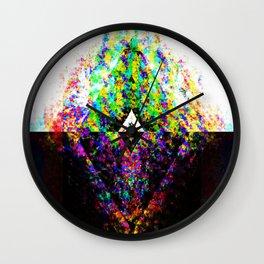 Split Chaotic Wall Clock