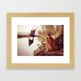 E. Framed Art Print