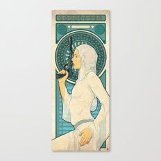 Princess Leia ANH Art Nouveau Canvas Print