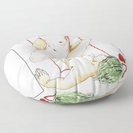 Dois de Copas Floor Pillow