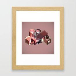 nomadic.smokestack Framed Art Print
