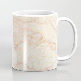 Beige Marble beige peach red warm texture background Italian Marble red verona marble print real Coffee Mug