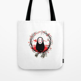 Evil Without Face Tote Bag