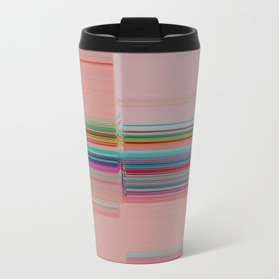 Off-Kilter Metal Travel Mug