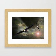Independance Flight. Framed Art Print