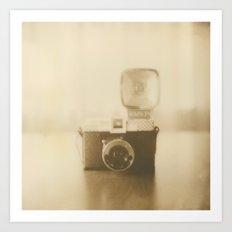 Camera Love - Polaroid Photography Art Print