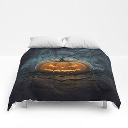 Halloween Pumpkin Comforters