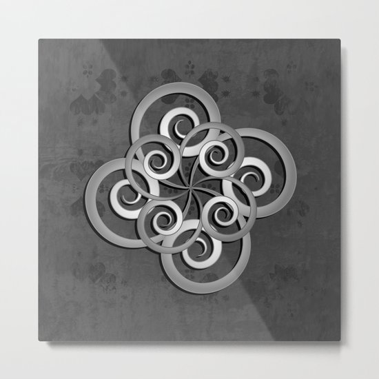Beautiful Celtic style design Metal Print