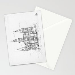 St. Louis Cathedral | New Orleans | Illustration  Stationery Cards