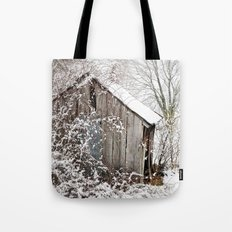 The Wooden Shed Tote Bag