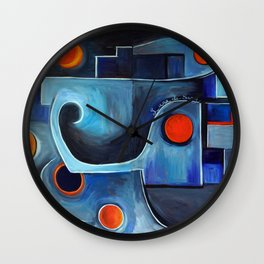Blood Moon Wall Clock