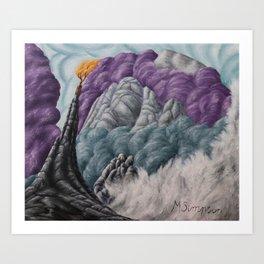 No. 6, Mt Kinabalu Art Print