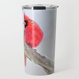 "Cardinal: ""Do You Hear What I Hear?"" Travel Mug"
